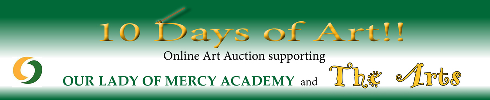 Banner for art auction online site