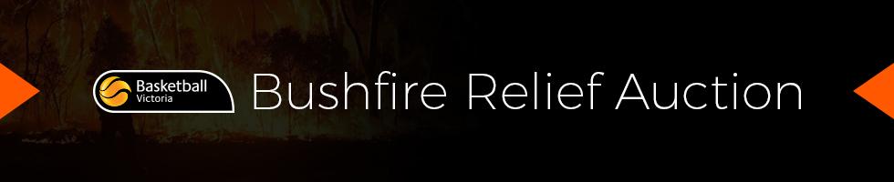Bushfire relief auction web banner 980x200