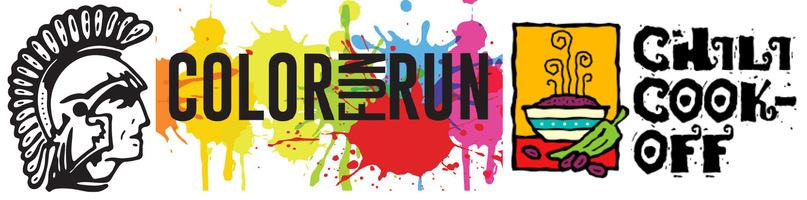 Color run logo banner cropped