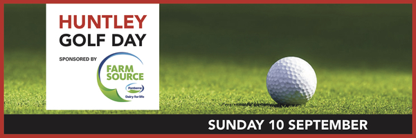 Golf day banner 2017