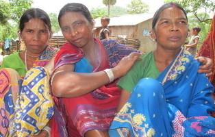Adivasi tribal women