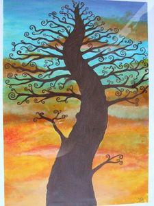 Sunset tree s300