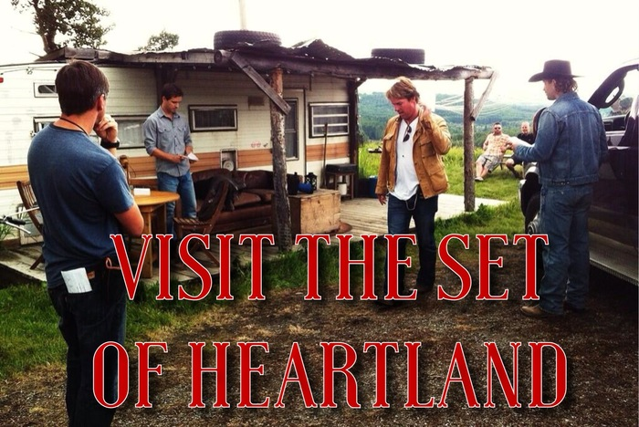 Spend a day on the set of Heartland
