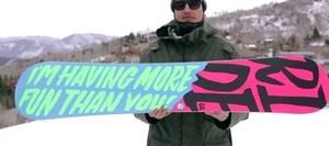 Buckwild snowboard 2 s300