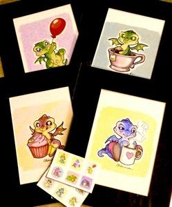 Dragon doodles   auction s300