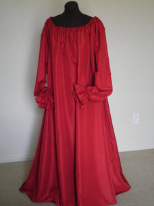 Blood red dress s300