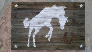 Horse painting s300
