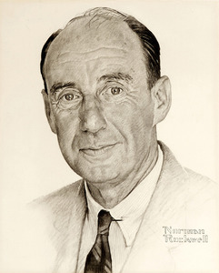 Rockwell portrait of adlai stevenson study 32a s300