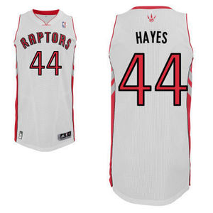Cheap nba toronto raptors 44 chuck hayes authentic home jersey s300