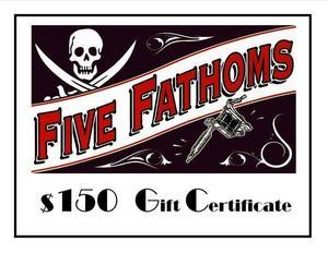 Five fathoms s300