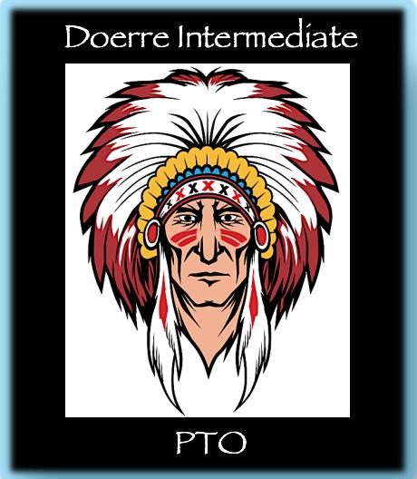 Doerre logo warrior head blue background s550