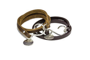 Alohi kai bch cowhide bracelets s300