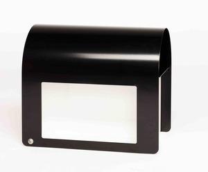 Black empty mailbox s300