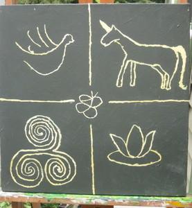 Aj art five symbols s300