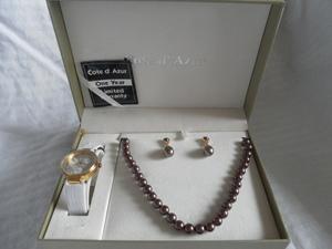Item 12   women s jewelry set   pearl necklace set s300