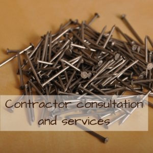Contractor consultation and services s300