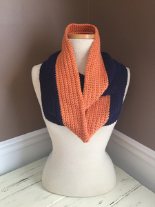 Auburn two toned scarf s300