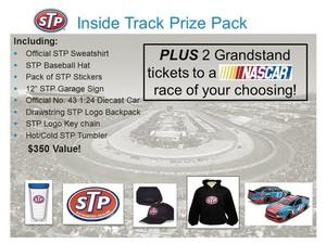 Stp prize pack  silent auction s300