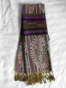 Purple scarf s300