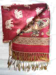 Maroon scarf s300