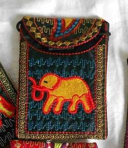 Small purse 3 multi color black s300