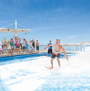 Pic flowrider on royal caribbean s300