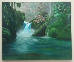 Waterfall painting 3x4 s300