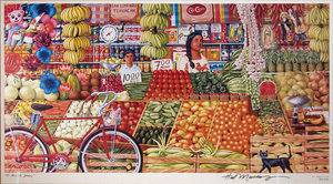Elmercadojuarez halmarcus signedprintunframed s300