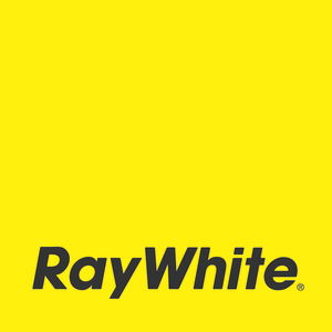 Ray white primary logo  yellow    cmyk s300
