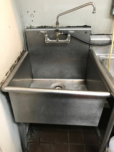 1 comp pot sink s300