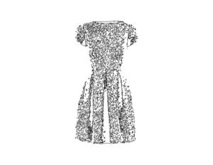 Dress outline   copie s300