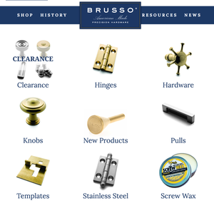 Shop   brusso hardware s300