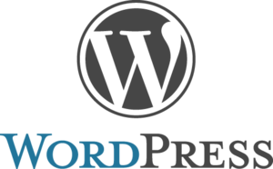 Wordpress logo stacked rgb s300