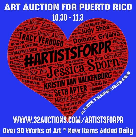 Art auction for pr s550