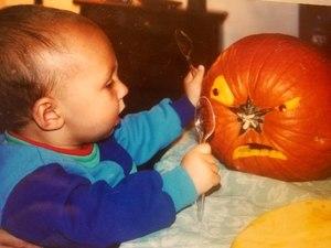 Halloween pumpkin s300