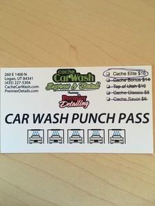 Cache car wash s300