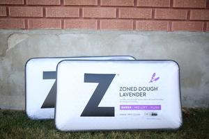 Zoned dough lavendar pillow s300