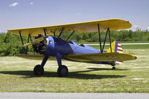 Stearman bi plane s300
