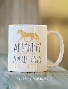 Akhal teke horse lover equestrian    coffee mug s300