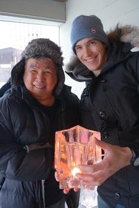 Kuliktana  terry and ghyslaine letourneau nov.20 2016 ice candles s300