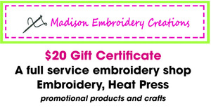 Madison embroidery creations auction promo s300
