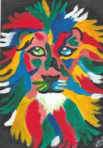 2018auction the lion symbolises courage hayley dorian s300