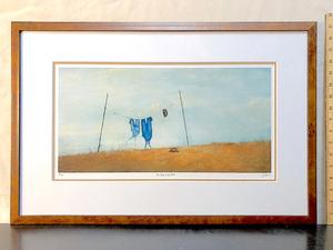 Art   photo enhance clothesline blue s300