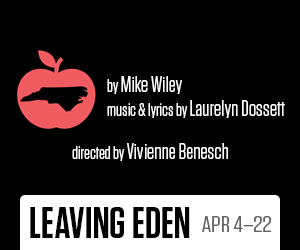 Two playmakers tickets to leaving eden april 4 22 s300