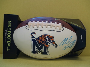 Mike norvell signed football s300
