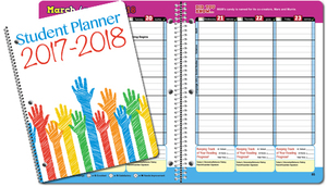 Elementary school student planners customized and standard agendas personalized student planners s300