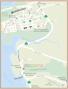 Resort area map s300