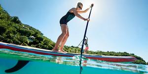 Group paddleboard lesson stjohn s300