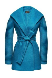 Wrap coat with ribbed sleeves teal blue of sentaler women luxury alpaca coat winter warm 1024x1024 s300
