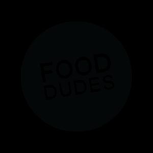 Food dudes logo   black ring s300